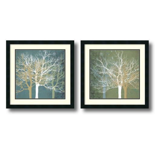 2-pc. Tranquil Forest Framed Wall Art Set by Erin Clark