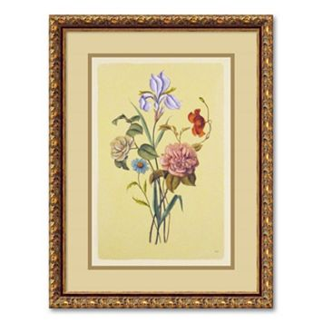 ''Botanical Bouquet V'' Framed Wall Art