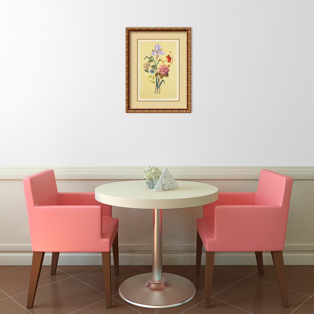 Botanical Bouquet V Framed Wall Art