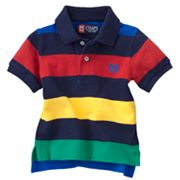 Chaps Lifesaver Striped Polo - Baby