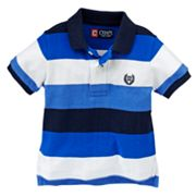 Chaps Rugby Striped Polo - Baby