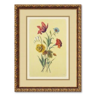 Botanical Bouquet I Framed Wall Art