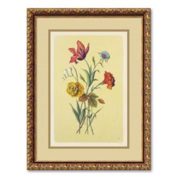 Botanical Bouquet I Framed Wall Art