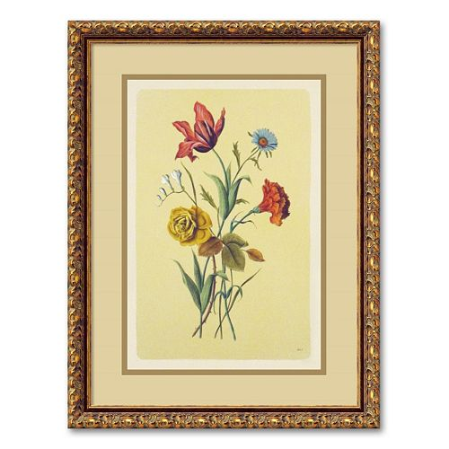 ''Botanical Bouquet I'' Framed Wall Art