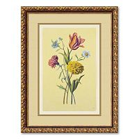''Botanical Bouquet II'' Framed Wall Art