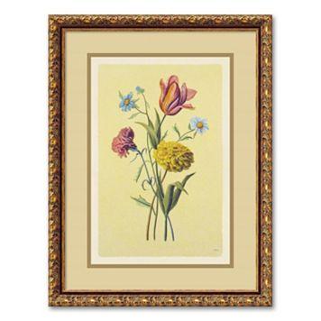 ''Botanical Bouquet II'' Framed Wall Art