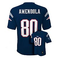 Boys 8-20 New England Patriots Danny Amendola NFL Replica Jersey