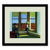 ''Room in Brooklyn'' Framed Wall Art by Edward Hopper