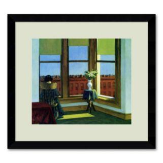 Room in Brooklyn Framed Wall Art by Edward Hopper