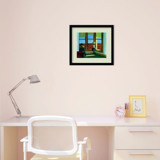 Room in Brooklyn Framed Wall Art by Edward Hopper