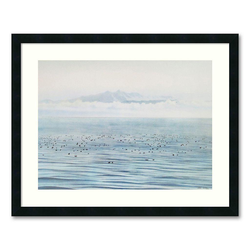 ''Migrating Ducks'' Framed Wall Art by Jeane Duffey