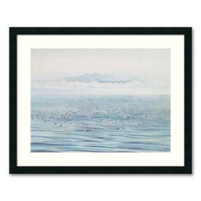 Migrating Ducks Framed Wall Art by Jeane Duffey