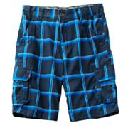 Tony Hawk Plaid Ripstop Cargo Shorts - Boys 8-18