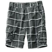 Tony Hawk Plaid Ripstop Cargo Shorts - Boys 8-18 Husky