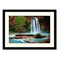 ''Havasu Falls'' Framed Wall Art by Andy Magee