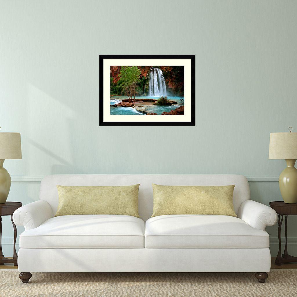 Havasu Falls Framed Wall Art by Andy Magee