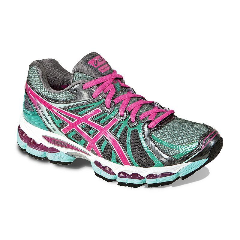 ASICS Grey GEL-Nimbus 15 Running Shoes - Women