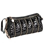 Nicole Lee Cherisse Studded Barrel Bag