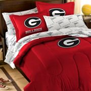 Georgia Bulldogs 5-piece Full Bed Set