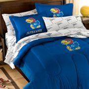 Kansas Jayhawks 5-piece Full Bed Set