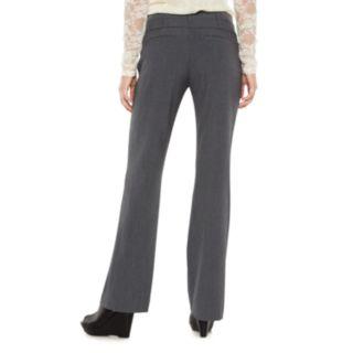 Juniors' Candie's® Marilyn Side Tab Low Rise Bootcut Dress Pants