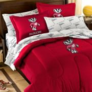 Wisconsin Badgers 5-piece Full Bed Set