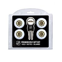 Boston Bruins 6 pc Golf Gift Set