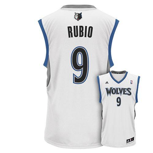 Men s adidas Minnesota Timberwolves Ricky Rubio NBA Jersey 293a25a73