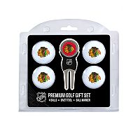 Chicago Blackhawks 6 pc Golf Gift Set