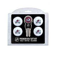 Colorado Avalanche 6 pc Golf Gift Set