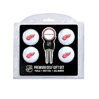 Detroit Red Wings 6 pc Golf Gift Set