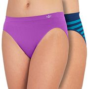 Lily of France 2-pk. Seamless Tailored Bikini Panties