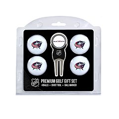 Columbus Blue Jackets 6-Piece Golf Gift Set
