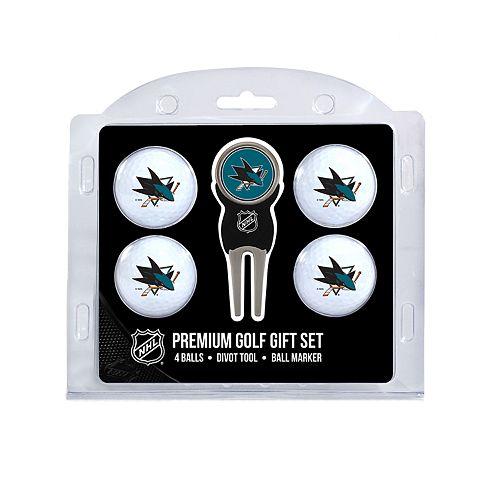 San Jose Sharks 6-Piece Golf Gift Set