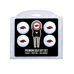 Arkansas Razorbacks 6 pc Golf Gift Set