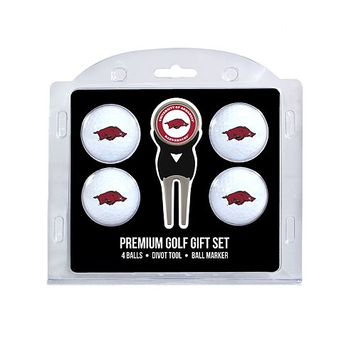 Arkansas Razorbacks 6-Piece Golf Gift Set