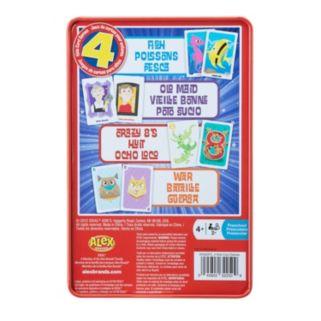Ideal 4-pk. Kids Card Games