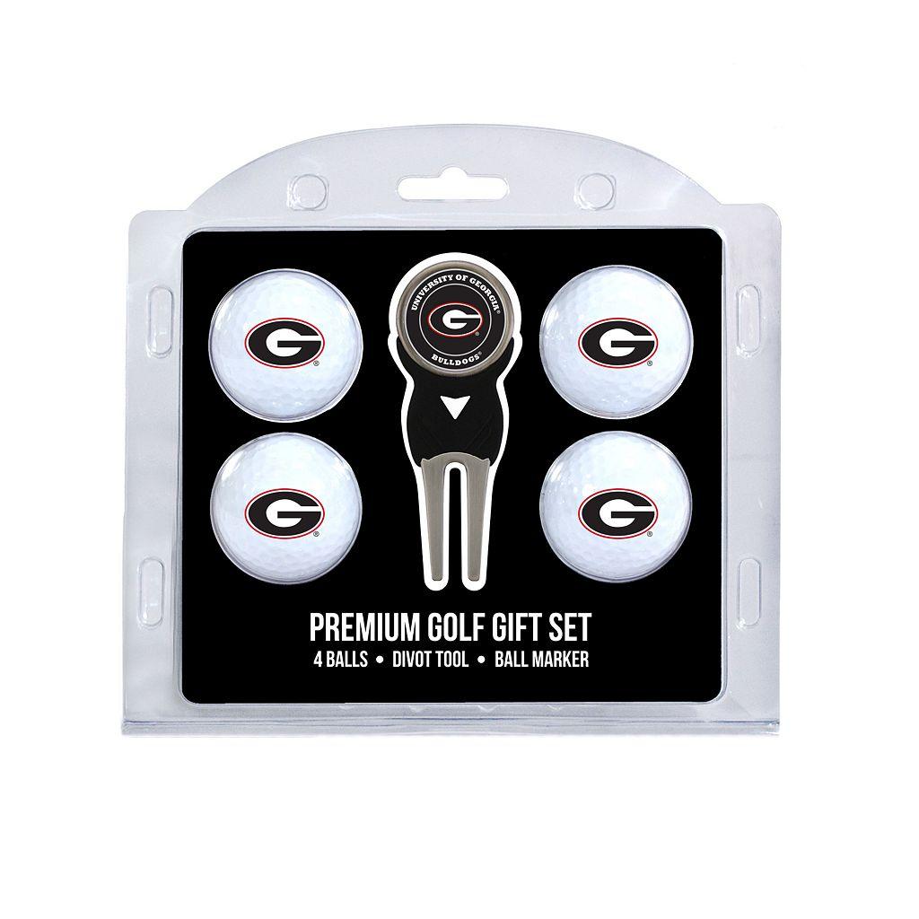 Georgia Bulldogs 6-pc. Golf Gift Set