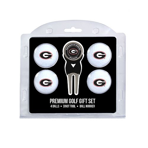 Georgia Bulldogs 6-pc. Golf Gift Set