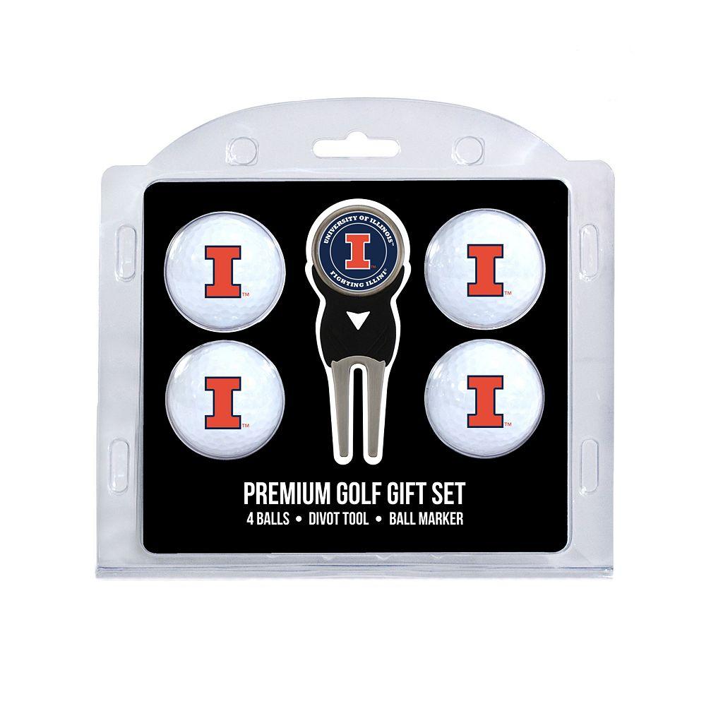 Illinois Fighting Illini 6-pc. Golf Gift Set