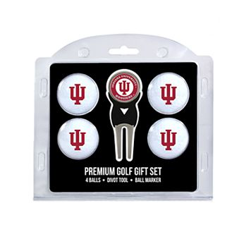Indiana Hoosiers 6-pc. Golf Gift Set