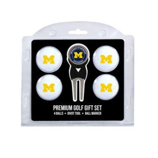Michigan Wolverines 6-Piece Golf Gift Set