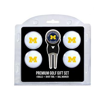 Michigan Wolverines 6-pc. Golf Gift Set