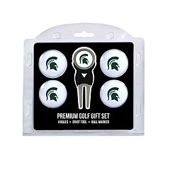 Michigan State Spartans 6 pc Golf Gift Set