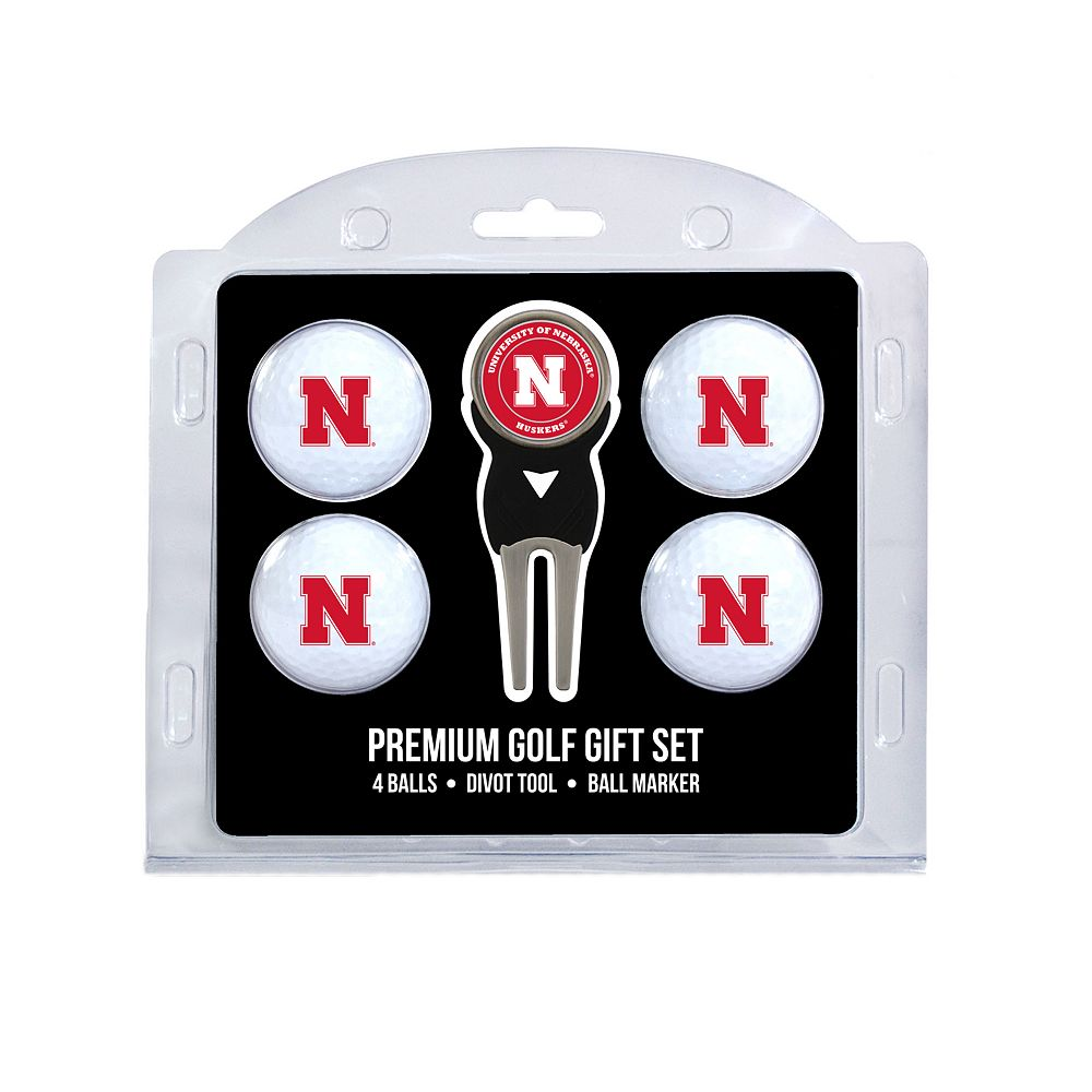 Nebraska Cornhuskers 6-Piece Golf Gift Set