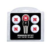 Nebraska Cornhuskers 6 pc Golf Gift Set