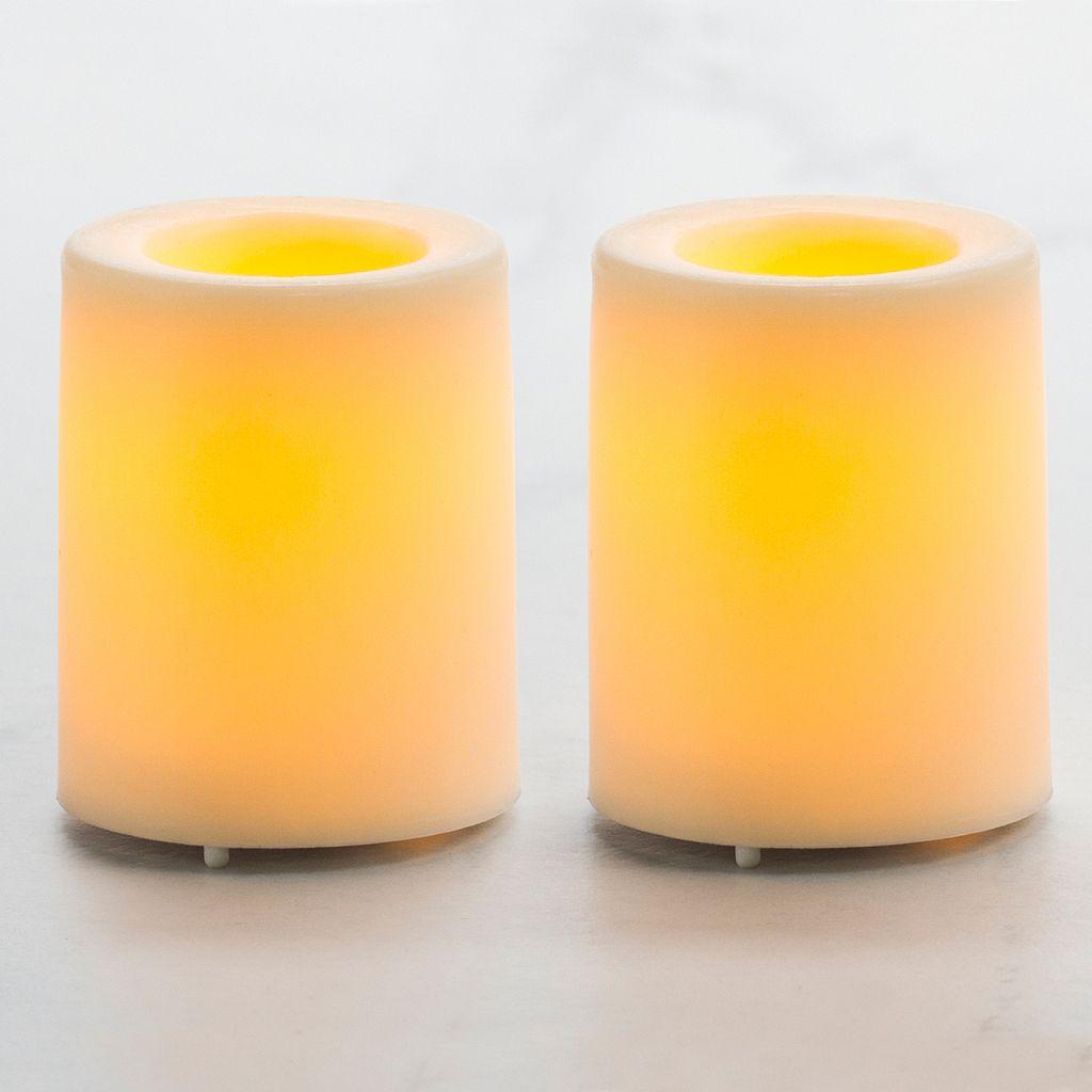 Inglow 2-pc. Flameless LED Votive Candle Set
