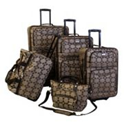 American Flyer Luggage, Argyle 5-pc. Wheeled Luggage Set