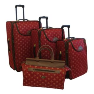 American Flyer Lyon 4-Piece Wheeled Luggage Set