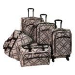 American Flyer Clover 5 pc Spinner Luggage Set